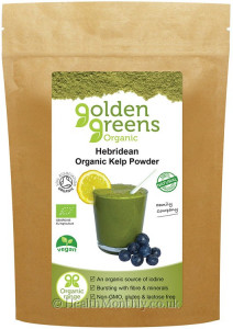 Golden Greens Organic Hebridean Kelp Powder