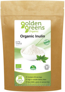 Golden Greens Organic Inulin