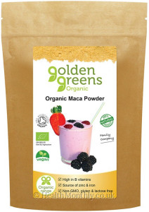 Golden Greens Organic Maca Powder