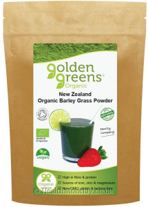 Golden Greens Organic New Zealand Barley Grass Powder
