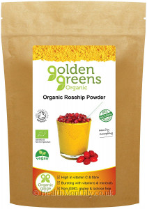 Golden Greens Organic Rosehip Powder