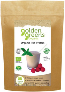 Golden Greens Organic Pea Protein