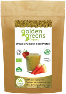 Golden Greens Organic Pumpkin Powder
