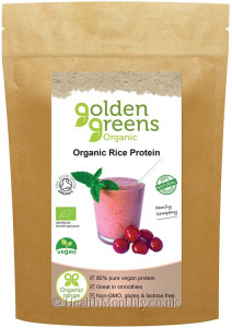 Golden Greens Organic Rice Protein