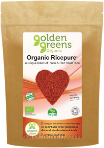 Golden Greens Organic Ricepure with Inulin