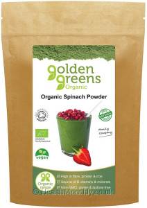 Golden Greens Organic Spinach Powder