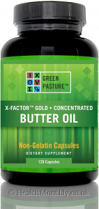 Green Pasture™ X-Factor™ Gold, Concentrated Butter Oil,