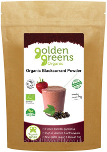 Golden Greens Organic Blackcurrant Powder