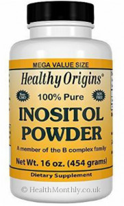Healthy Origins 100% Pure Inositol Powder