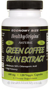 Healthy Origins Green Coffee Bean Extract