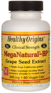 Healthy Origins MegaNatural-Bp Grape Seed Extract