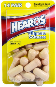 Hearos Ultimate Softness Ear Plugs