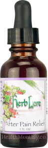 Herb Lore After Pain Relief Tincture