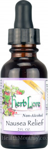 Herb Lore Nausea Relief Tincture