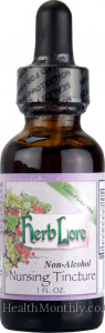 Herb Lore Nursing Tincture Moringa Blend