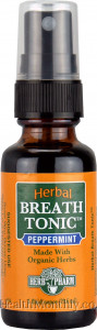 Herb Pharm Herbal Breath Tonic Peppermint