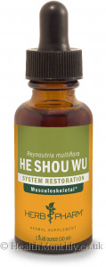 Herb Pharm Ho Shou Wu, Fo-Ti, Liquid Extract