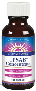 Heritage Products IPSAB Gum Mouthwash Concentrate