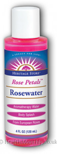 Heritage Products Rose Petals Rosewater Spray
