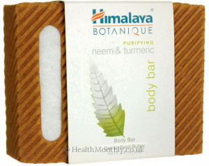 Himalaya Botanique Purifying Neem & Turmeric Body Bar