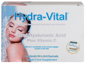 Hydra-vital Oral Hyaluronic Acid Plus Vitamin C