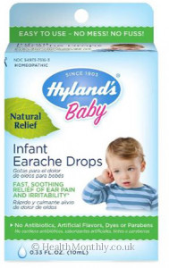 Hyland's Homoeopathic Medicine Baby Infant Earache Drops