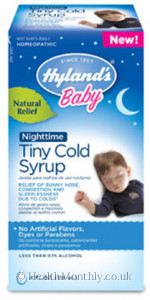 Hyland's Homoeopathic Medicine Baby Nighttime Tiny Cold Syrup