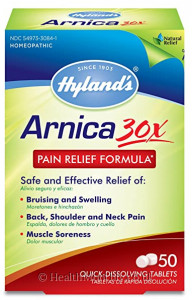 Hyland's Homoeopathic Medicine Arnica 30X