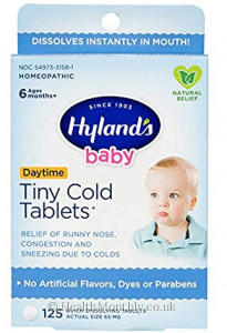 Hyland's Homoeopathic Medicine Baby Daytime Tiny Cold Tablets