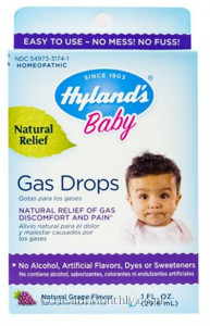 Hyland's Homoeopathic Medicine Baby Gas Drops