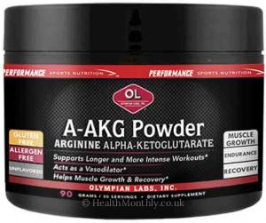Olympian Labs Performance Sport Nutrition A-AKG Powder
