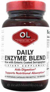 Olympian Labs Daily Enzyme Blend