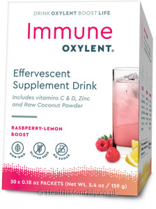 Immune Oxylent Raspberry-Lemon Boost