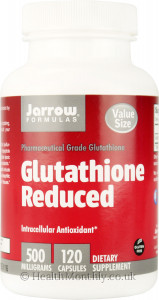 Jarrow Glutathione Reduced