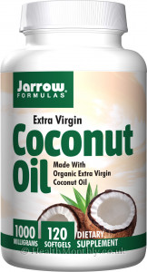 Jarrow Extra Virgin Coconut Oil 1,000 mg