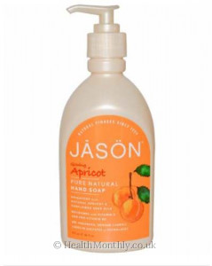 Jason Natural Glowing Apricot Hand Soap with Pump