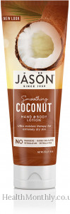 Jason Natural Smoothing Coconut Hand & Body Lotion