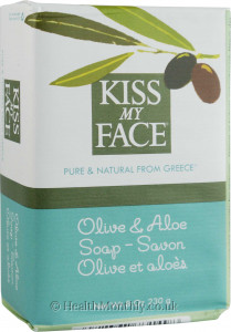 Kiss My Face Pure Olive and Aloe Soap
