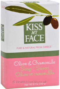 Kiss My Face Olive & Chamomile Bar Soap