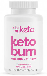 Kiss My Keto, Keto Burn with BHB & Caffeine