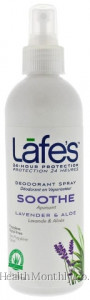 Lafe's Natural Bodycare, Deodorant Spray, Soothe