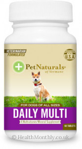 Pet Naturals Daily Multi Tab for Dogs