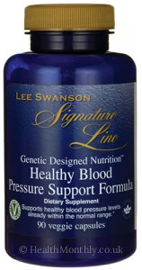 Lee Swanson Signature Line, Healthy Blood Pressure Support Formula