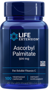 Life Extension Ascorbyl Palmitate Fat-Soluble Vitamin C