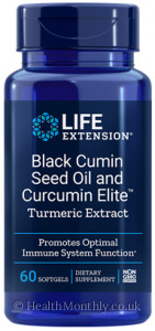 Life Extension Black Cumin Seed Oil and Curcumin Elite™ Turmeric Extract