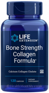 Life Extension Bone Strength Collagen Formula
