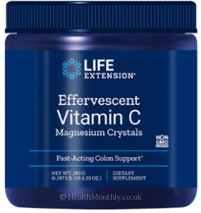 Life Extension Effervescent Vitamin C Magnesium Crystals