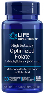Life Extension High Potency Optimized Folate