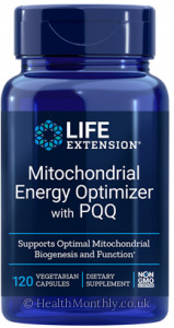 Life Extension Mitochondrial Energy Optimiser with PQQ