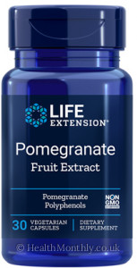 Life Extension Pomegranate Fruit Extract